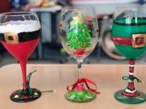Christmas 2018 wine glasses 2