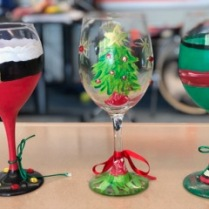 Christmas 2018 wine glasses 2
